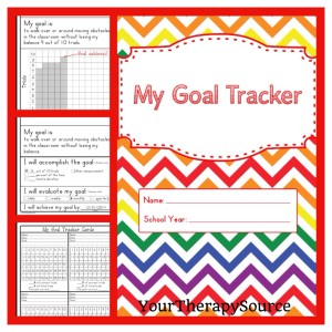 My Goal Tracker student data collection