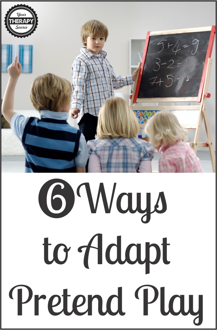6 Ways to Adapt Pretend Play