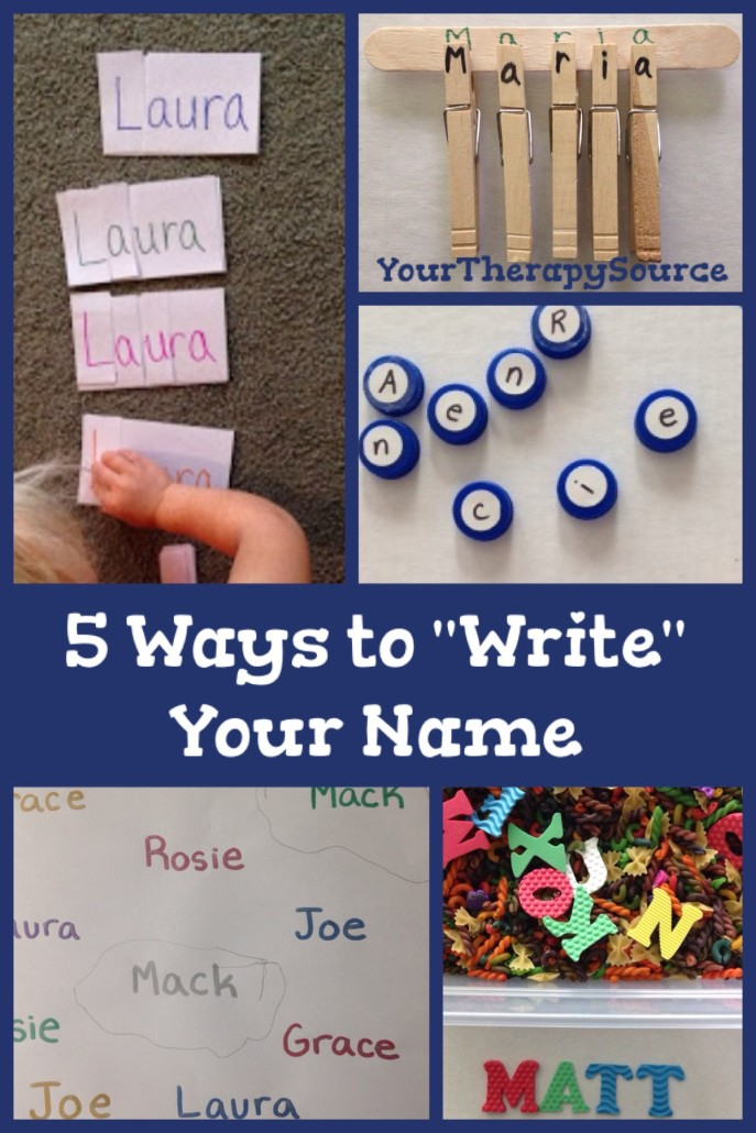 "preschool name ""writing"""