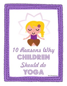 10 reasons why yoga is beneficial for children - http://yourtherapysource.com/yoga.html