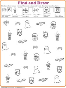 find and draw freebie for Halloween from http://yourtherapysource.com/vphalloweenfreebie