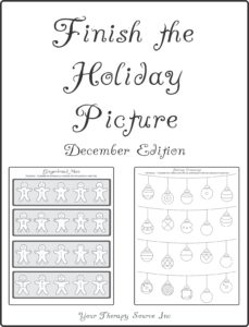 Finish the Holiday Picture - December Edition