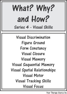 What? Why? and How? Series 4 – Visual Skills