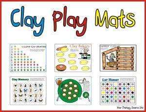 Clay Play Mats