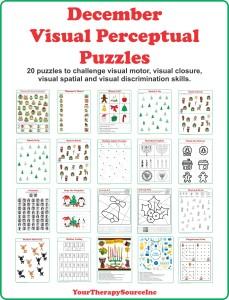 December Visual Perceptual Puzzles