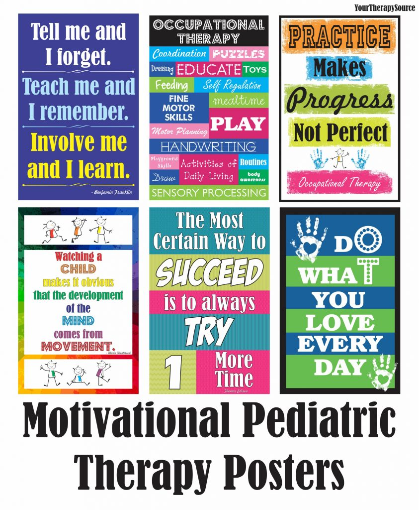 Happy Occupational Therapy Month Free Posters to Print - Your ...
