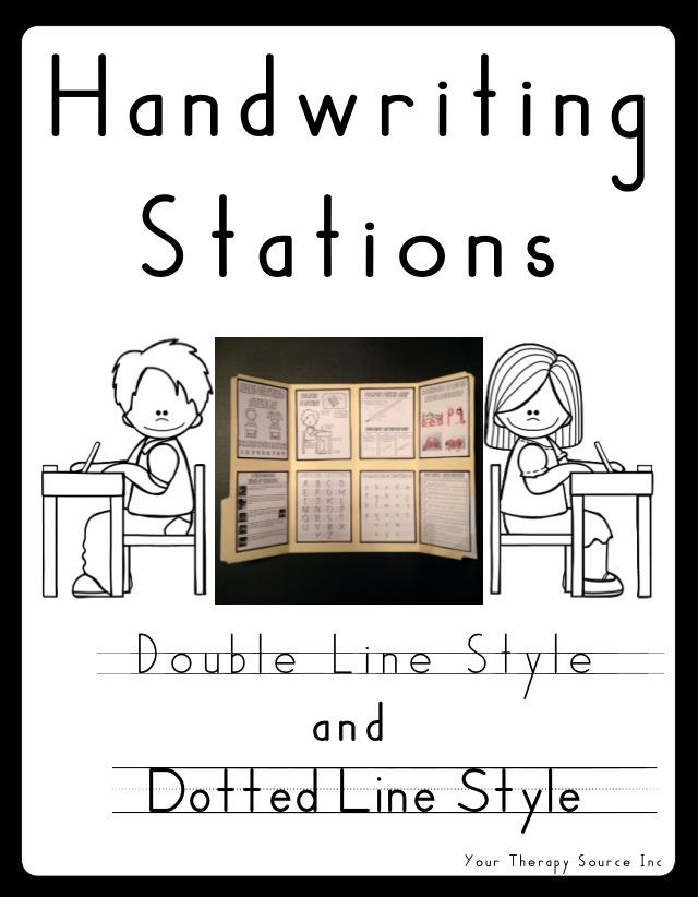 Handwriting Stations