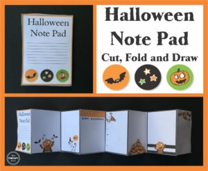 Halloween Mini Book from Your Therapy Source