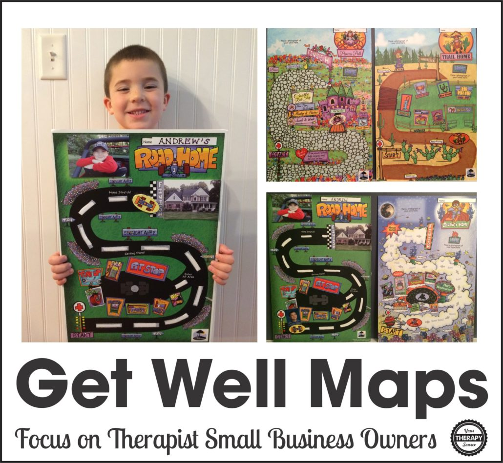 Get Well Maps - Therapist small business owner Q&A with Your Therapy Source Inc