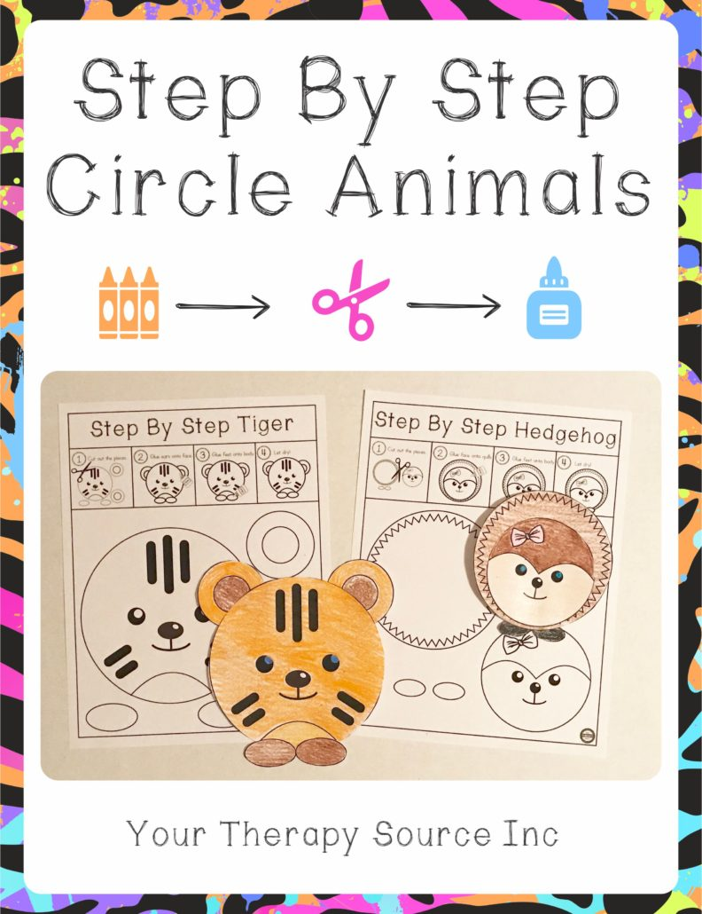Step By Step Circle Animal Projects