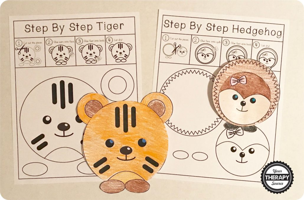 Step By Step Tiger Circle Project Freebie