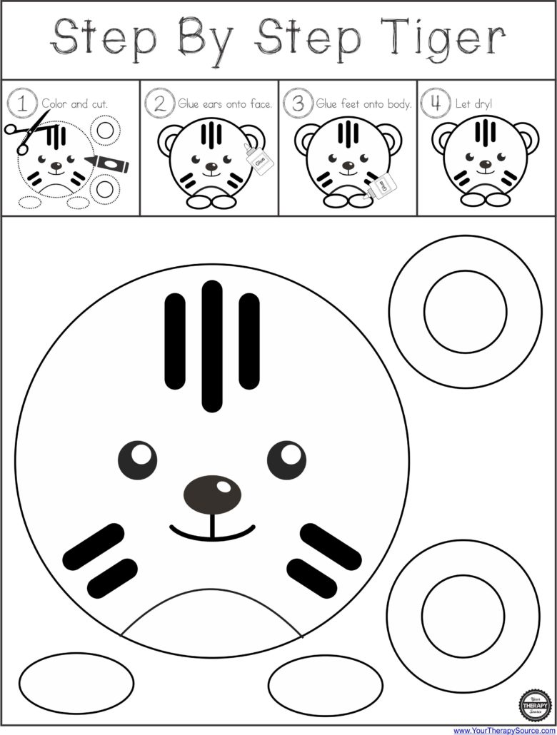 Tiger Circle from Your Therapy Source