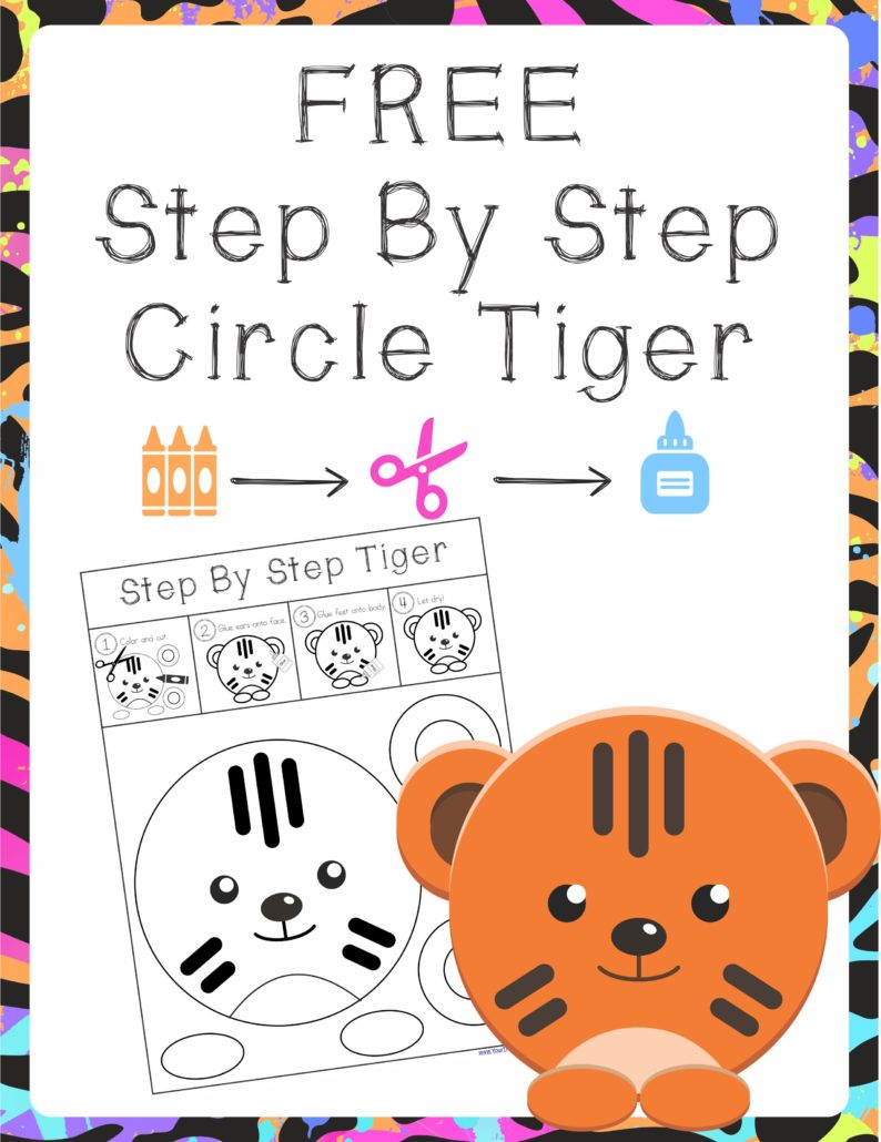Step By Step Tiger Circle Project