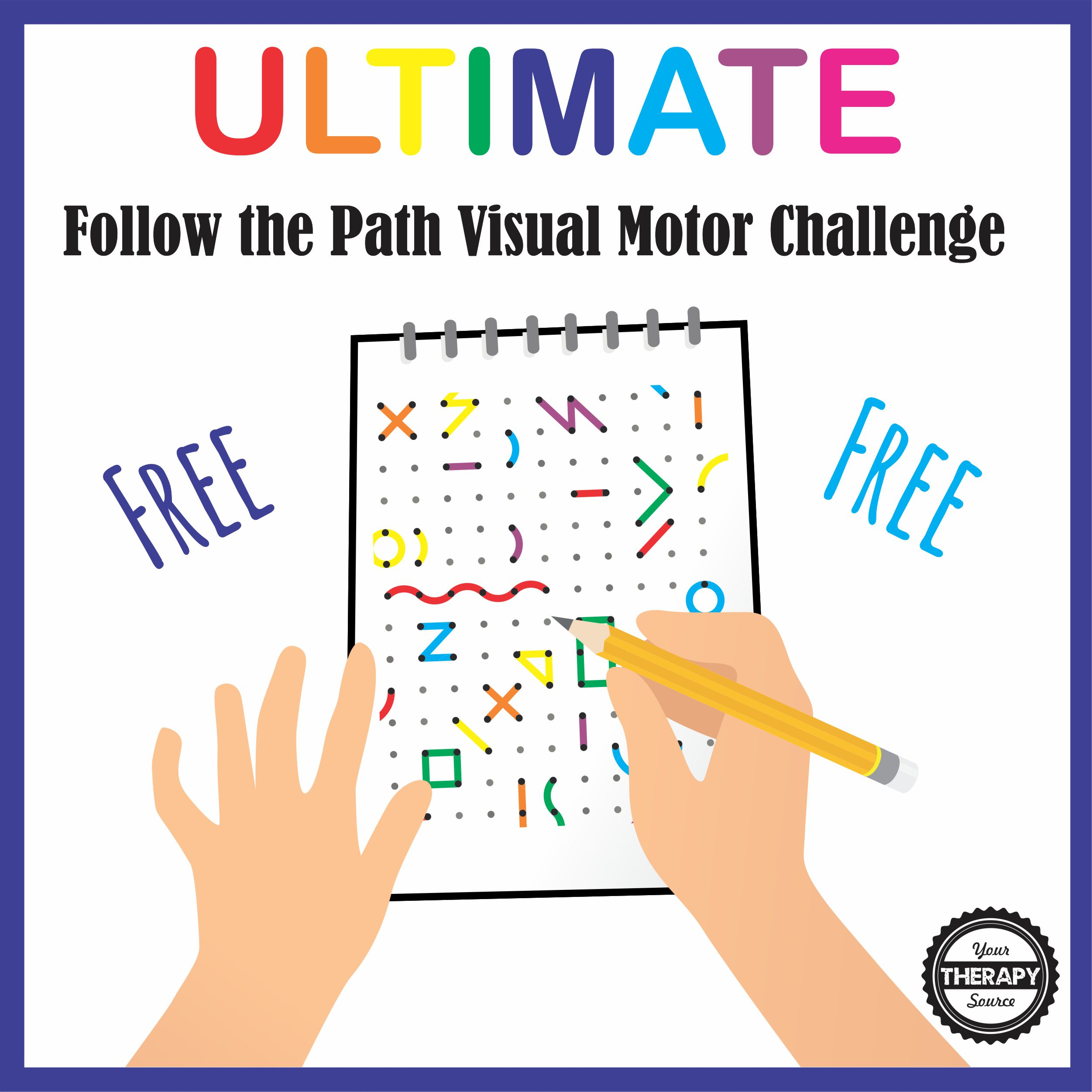 Ultimate Visual Motor Challenge Your Therapy Source