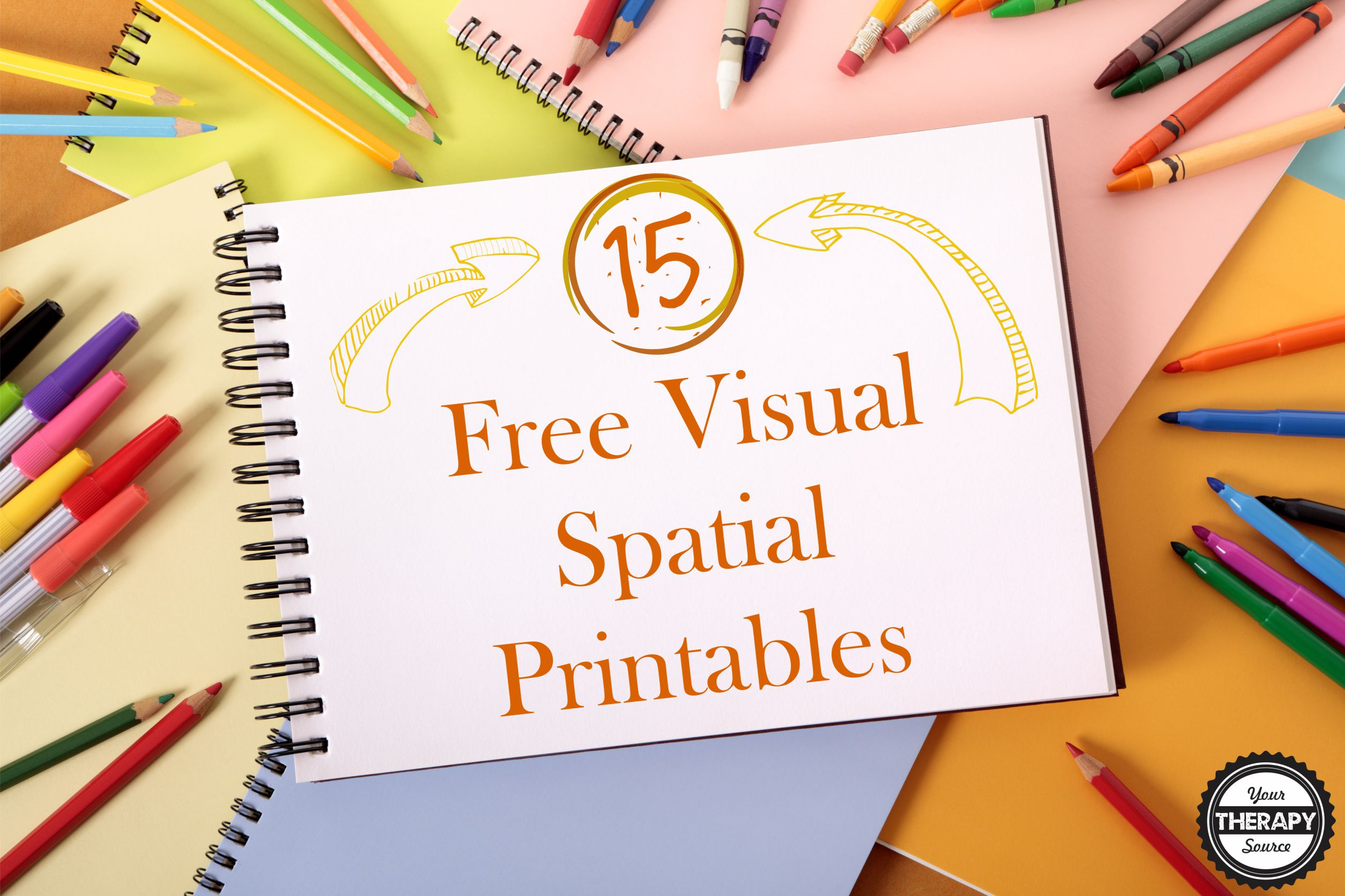 picture relating to Free Printable Speech Therapy Materials identified as 15 Absolutely free Visible Spatial Printables - Your Remedy Useful resource