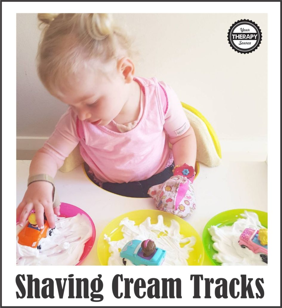 Shaving Cream Tracks Photo