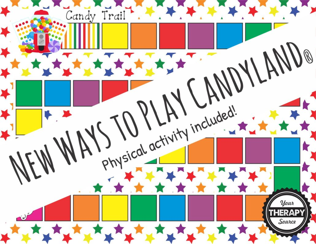 New ways to play candyland