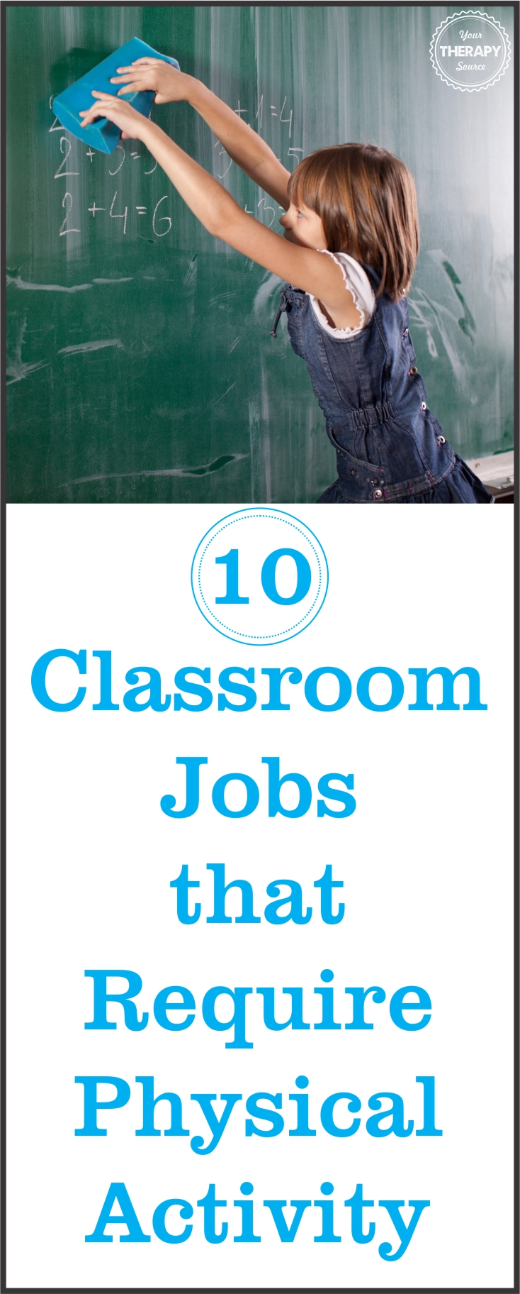 Classroom Jobs Physical Activity