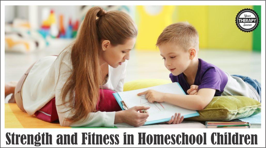 Strength and Fitness in Homeschool Children