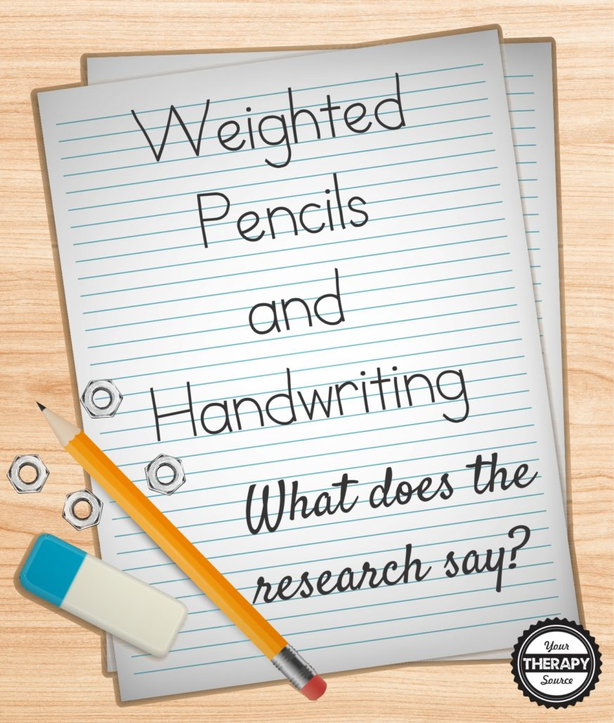 Weighted Pencils and Handwr