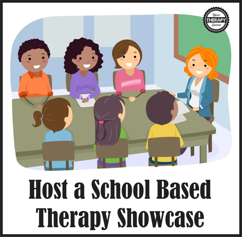 You could invite parents, teachers, and students to your school based therapy showcase to check out all the assistive technology and adapted equipment that is available for students.