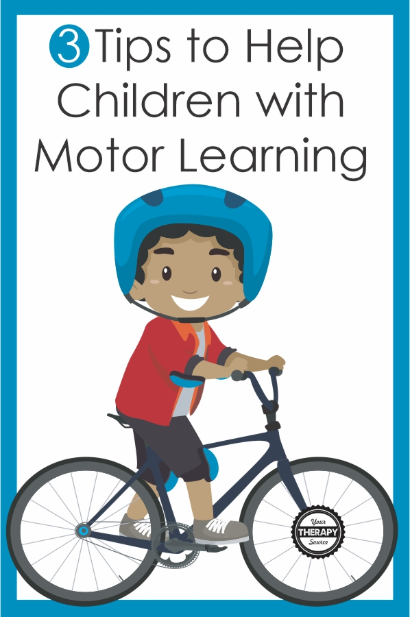 There are many reasons why the body has better muscle memory for certain motor plans. This is all part of motor learning in children.