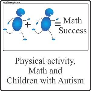 physical activity math and autism