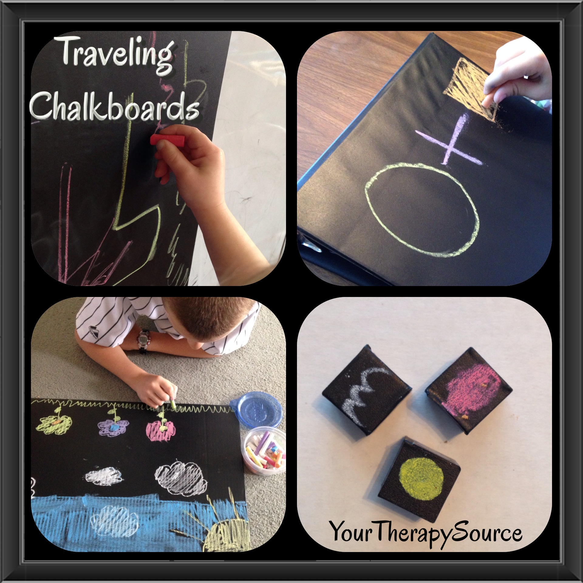traveling chalkboards