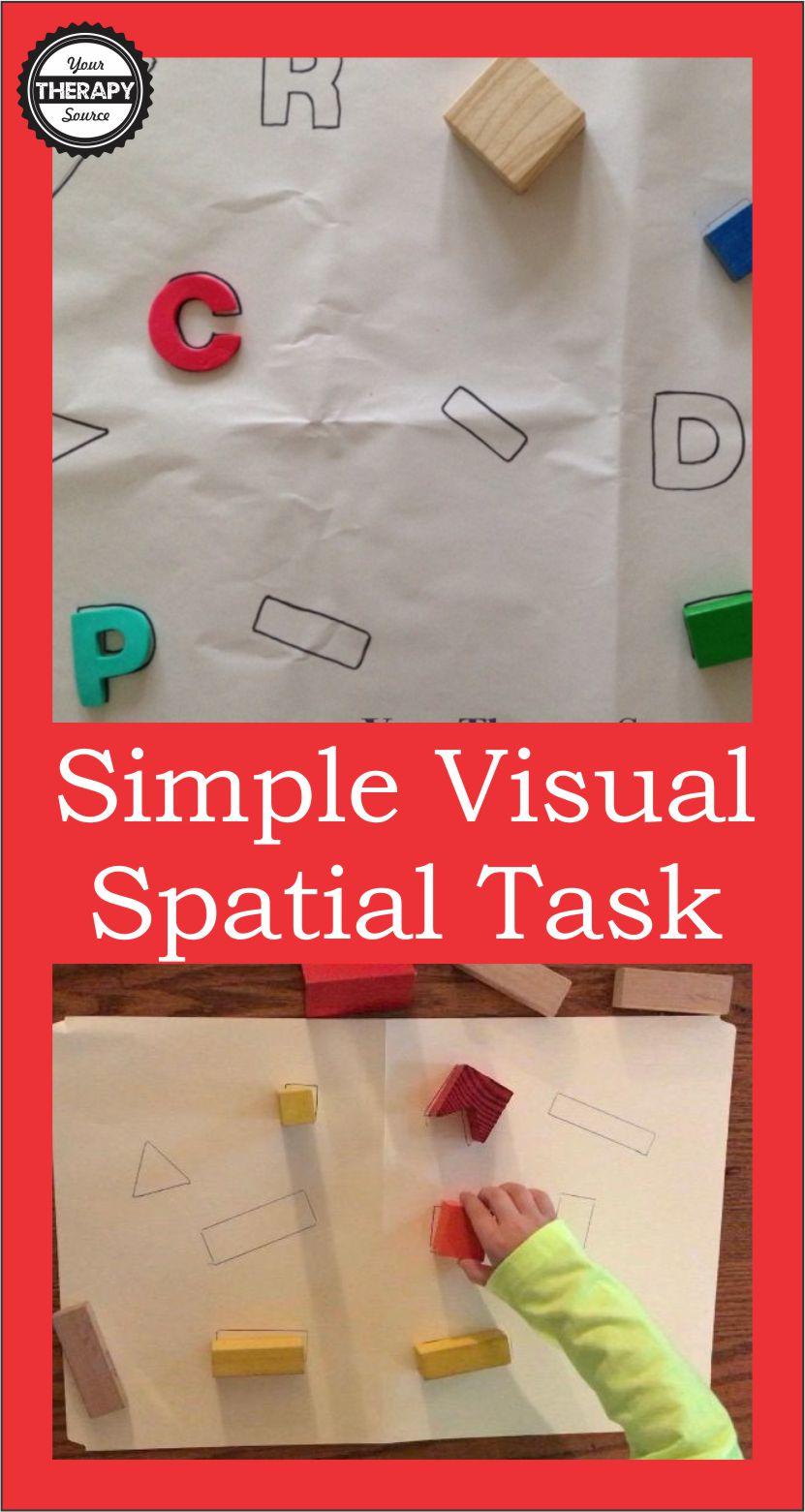 simple visual spat