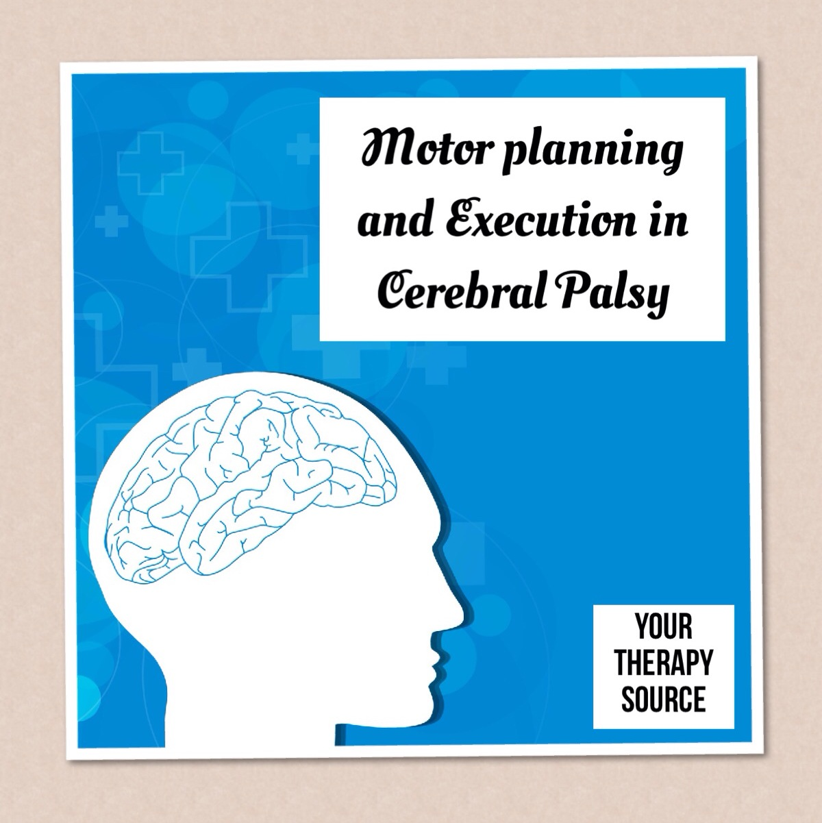 Motor Planning and execution in cerebral palsy