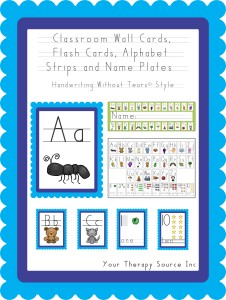 Alphabet Cards Poster and Strip HWT cover