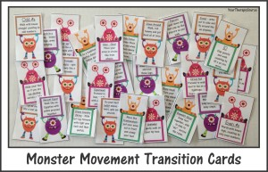 Monster Transition Cards Photos 1