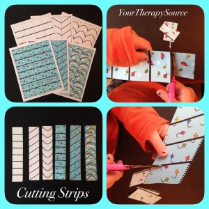 Free Cutting Strips from www.YourTherapySource.com