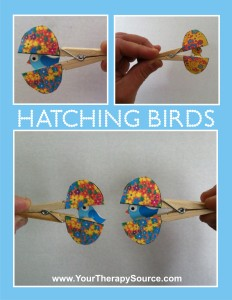 Hatching Birds at https://www.yourtherapysource.com/freehatch.html