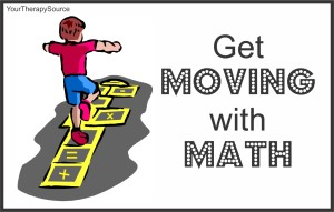 get moving with math from www.YourTherapySource.com