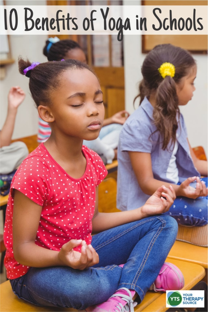 Here are 10 benefits of yoga in schools and why you should add it to your programs. Join school-based therapists, physical education and classroom teachers who already use yoga in education.