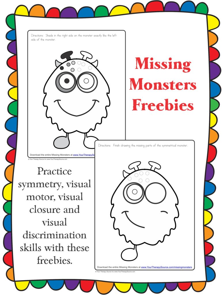 Missing Monsters Freebie Cover