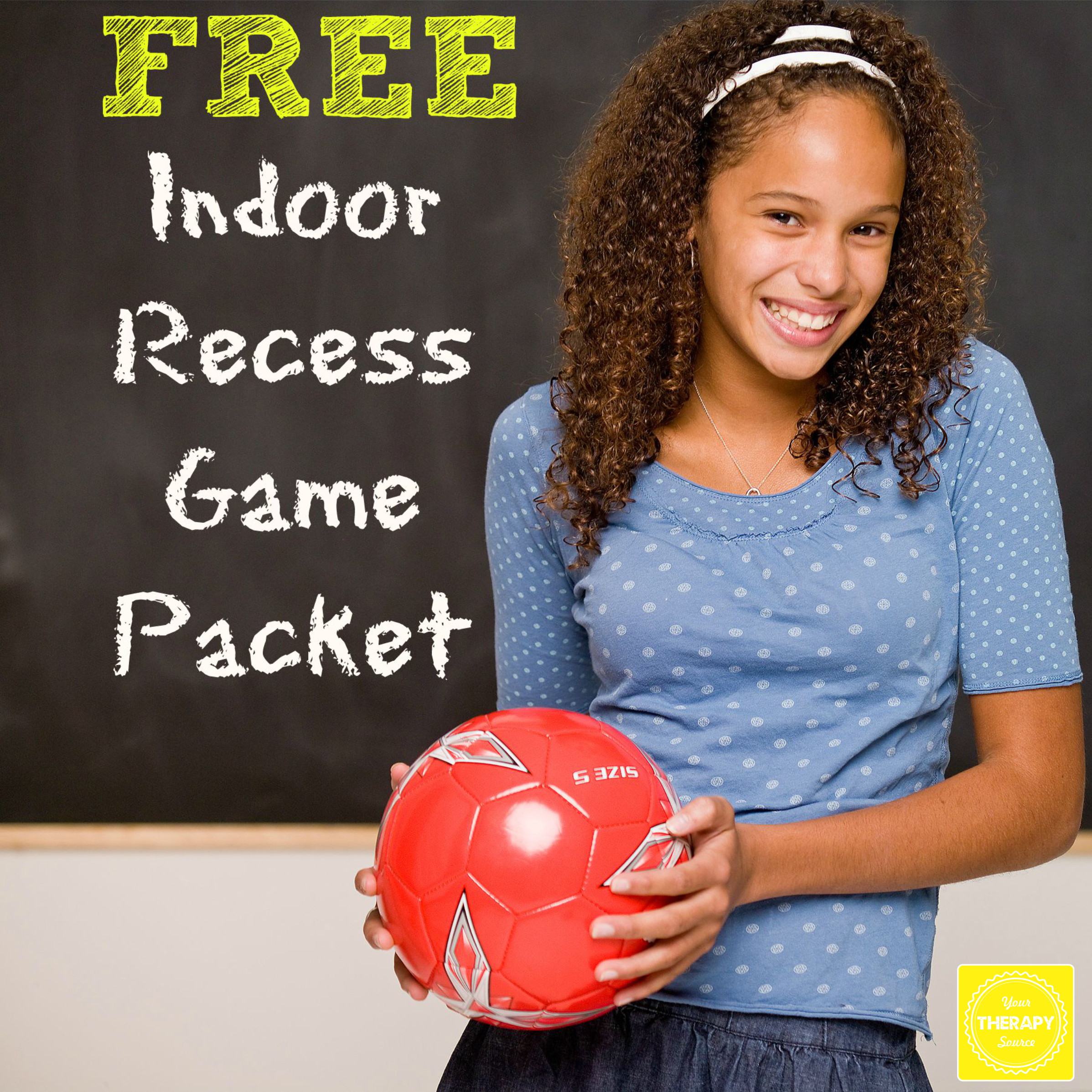 Indoor Recess Packet from https://www.yourtherapysource.com/indoorrecess.html