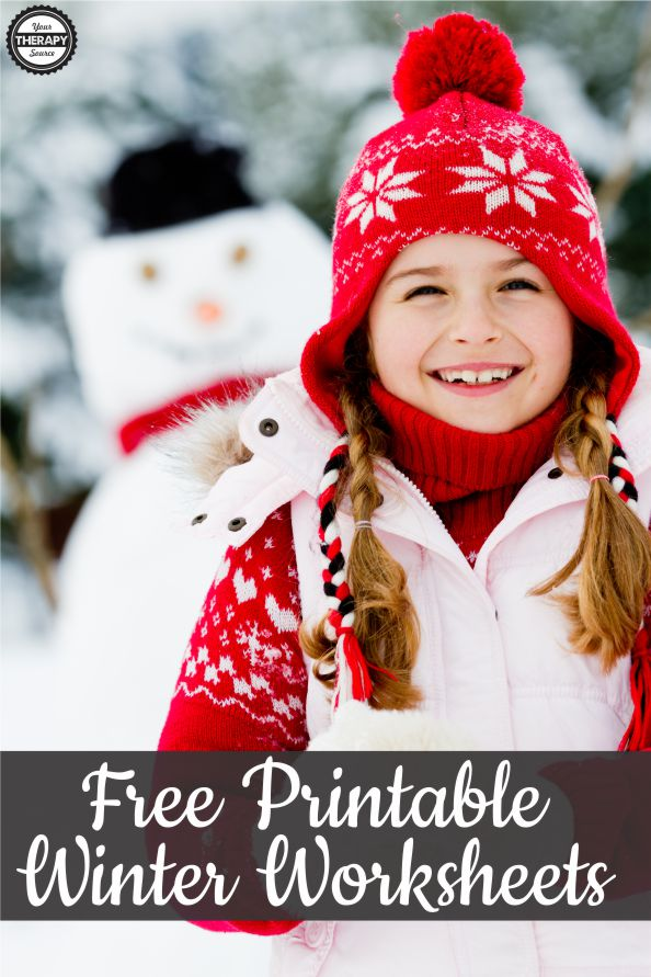 To celebrate our early Winter here are some free printable winter worksheets all with a snowman theme to practice fine motor, visual perceptual and handwriting skills.