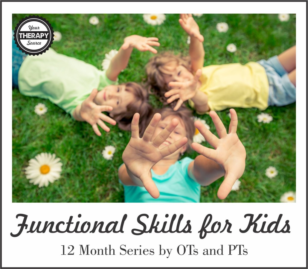 Functional Skills for Kids Your Therapy Source