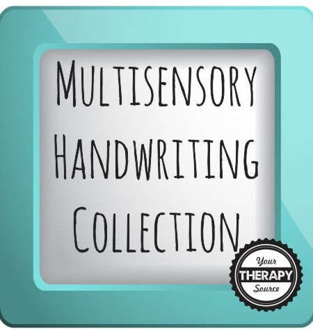 collection images multisensory handwriting