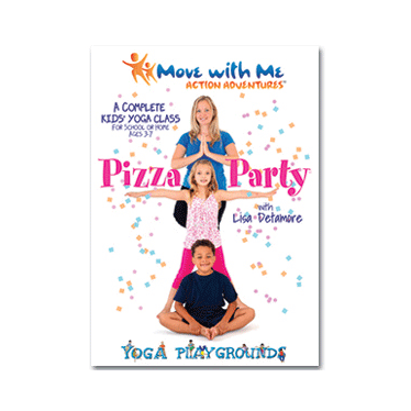 Pizza Party Kids Yoga Class for Core Strength