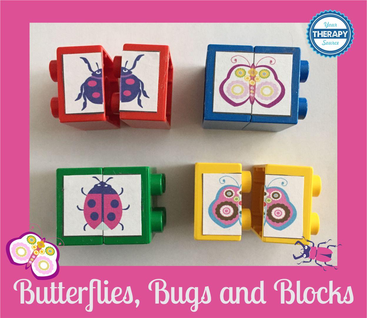 Butterflies, Bugs and Blocks