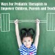 Pediatric therapists can help to empower children, parents and teachers. Encouraging children and families to work on independence is the goal.