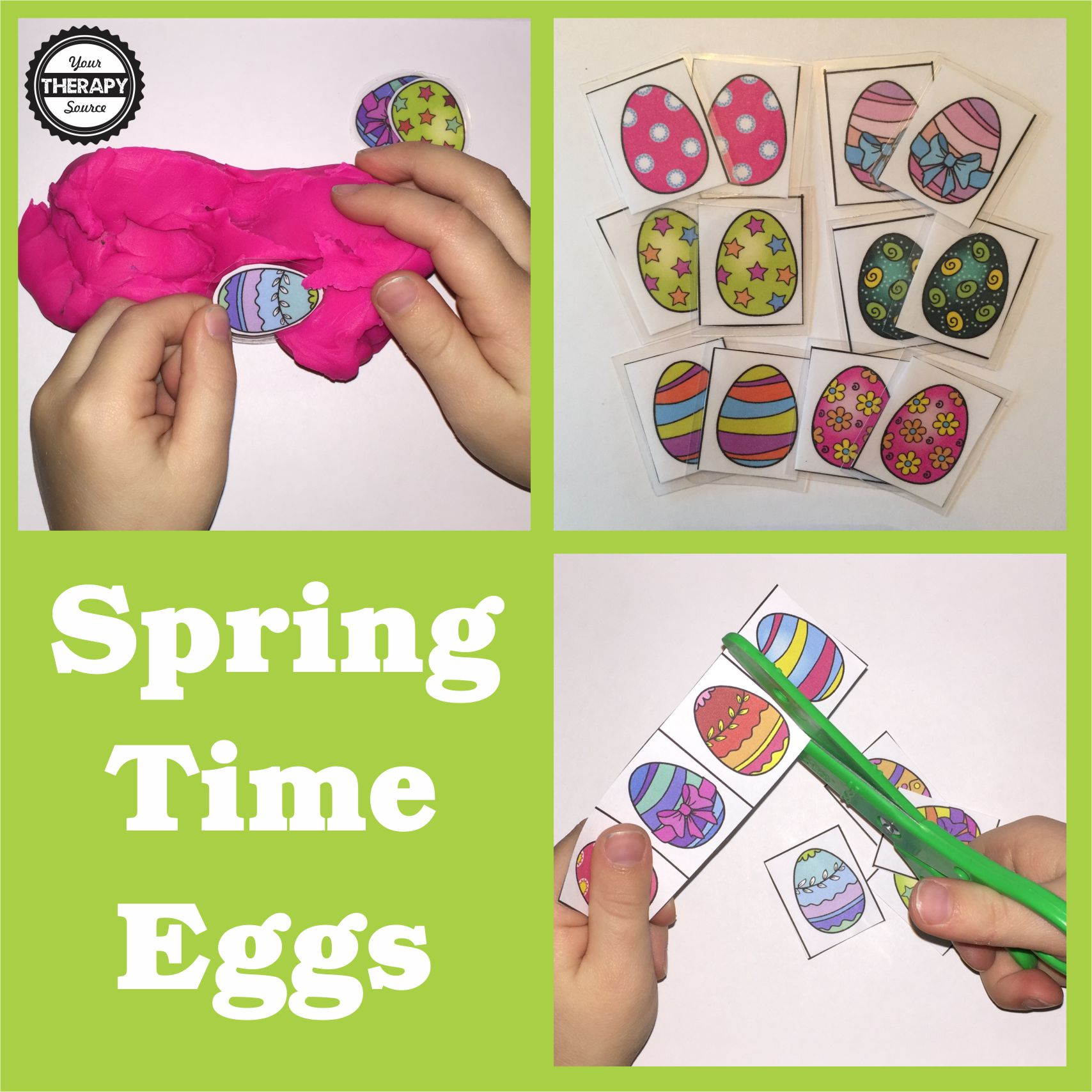 Spring Time Eggs