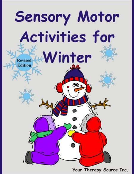 Sensory Motor Activities for Winter