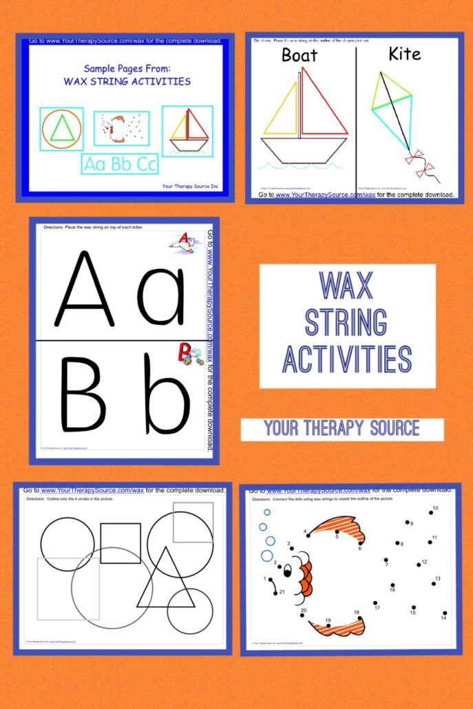 Download Sample Pages from Wax String Activities