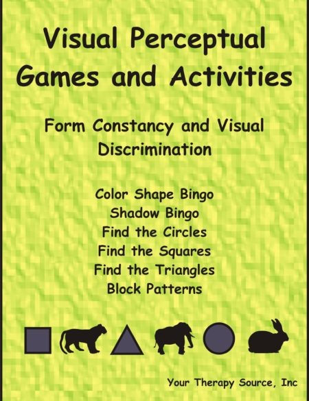 Visual Perceptual Games and Activities