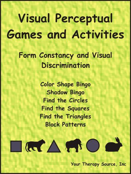 Visual Perceptual Games and Activities