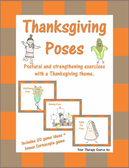 Thanksgiving Poses - Postural and Strengthening Exercises with a Thanksgiving Theme